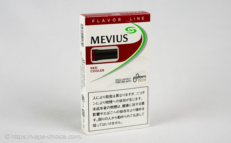 たばこカプセル メビウス・レッド・クーラー フォー・プルーム・テック