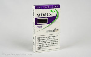 たばこカプセル メビウス・パープル・クーラー フォー・プルーム・テック