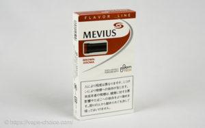 たばこカプセル メビウス・ブラウン・アロマ フォー・プルーム・テック