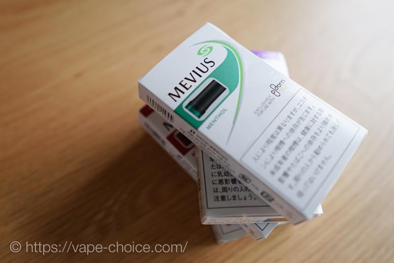 プルームテックのたばこカプセル
