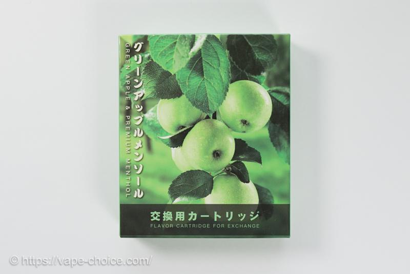 プルームテック互換カートリッジ アップルメンソール味