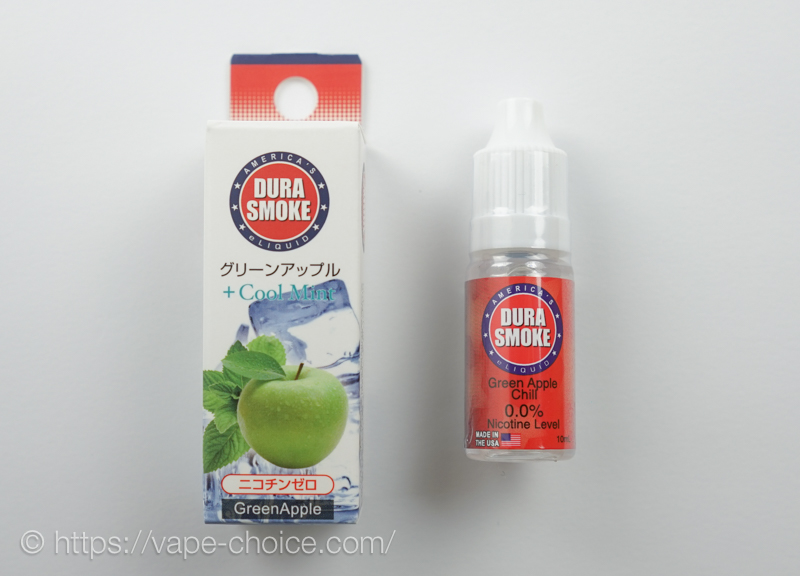 グリーンアップル+クールミント