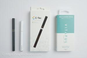 カートリッジ式電子タバコ