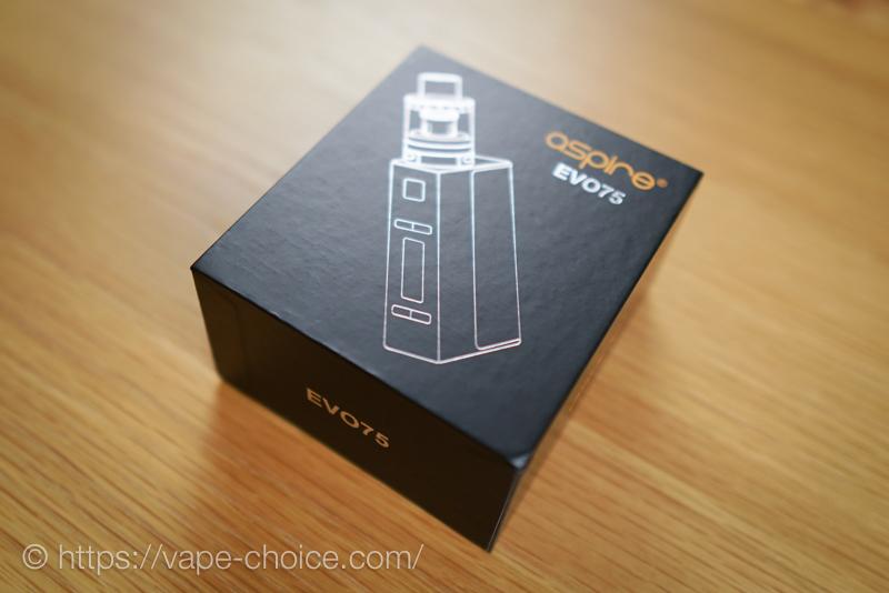 EVO75Kitの箱