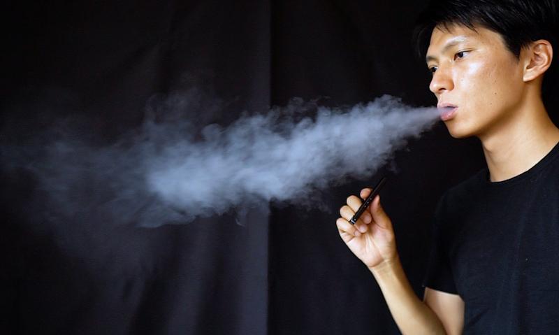 EasyVAPERAINBOW 煙の濃さ