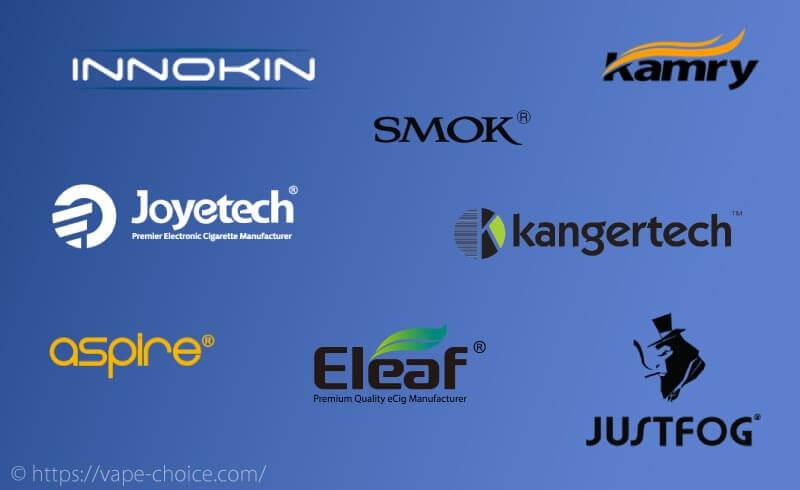電子タバコおすすめメーカー